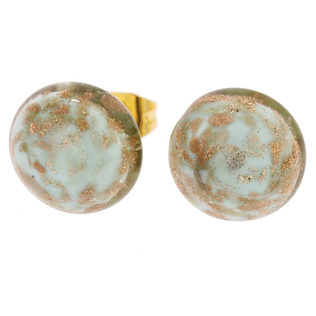 Starlight Small Stud Earrings - Sky Blue