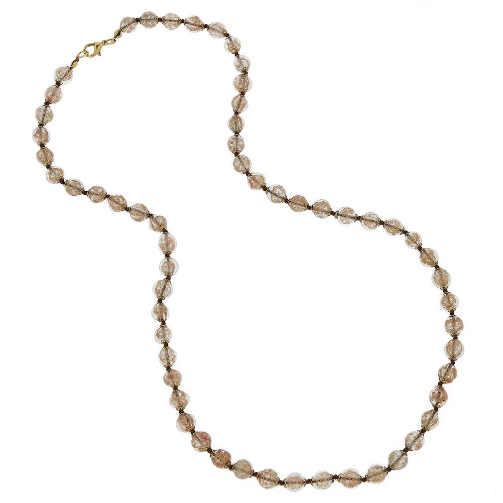 Sommerso Long Necklace - Champagne