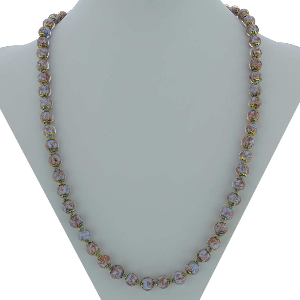 Sommerso Long Necklace - Teal