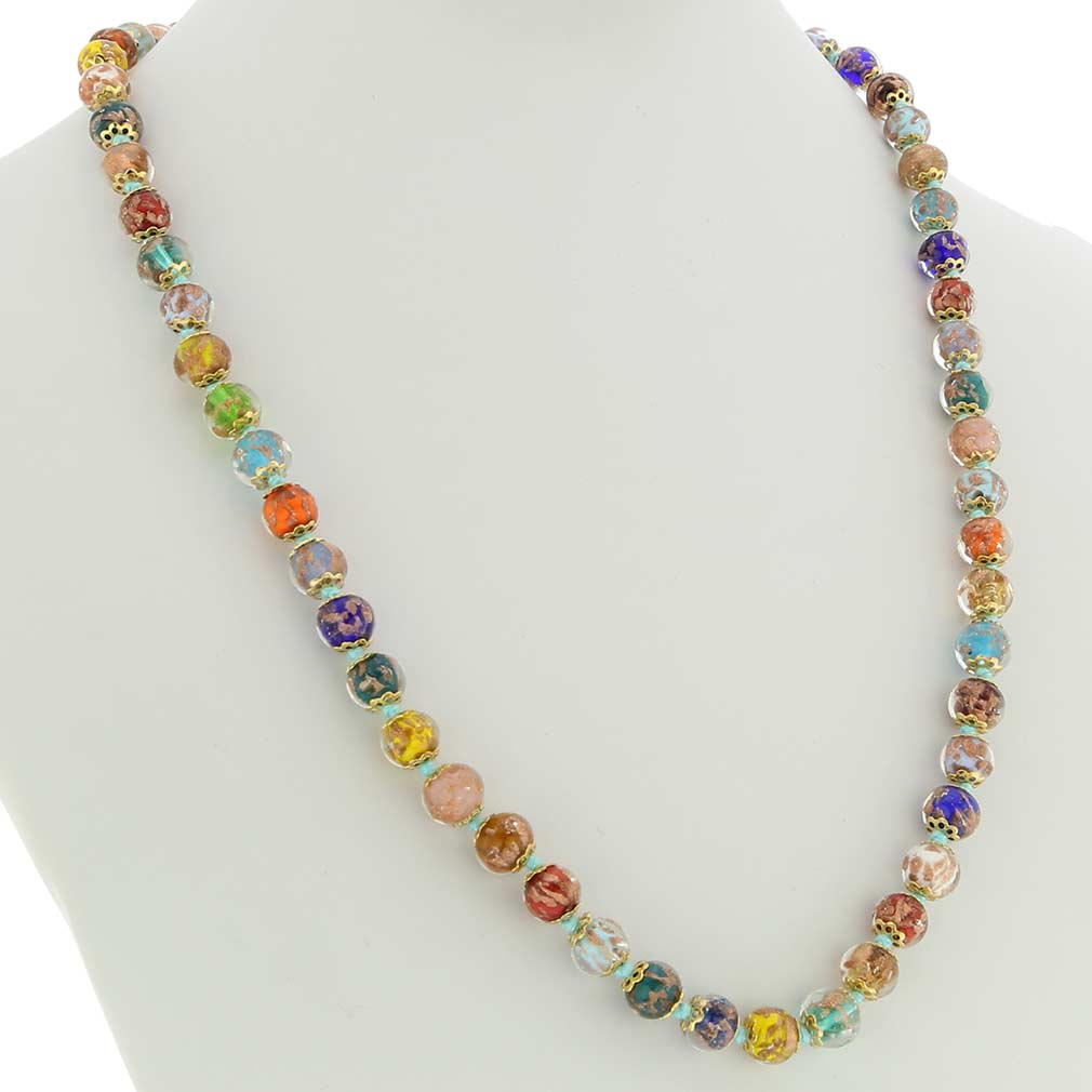 Sommerso Long Necklace - Multicolor
