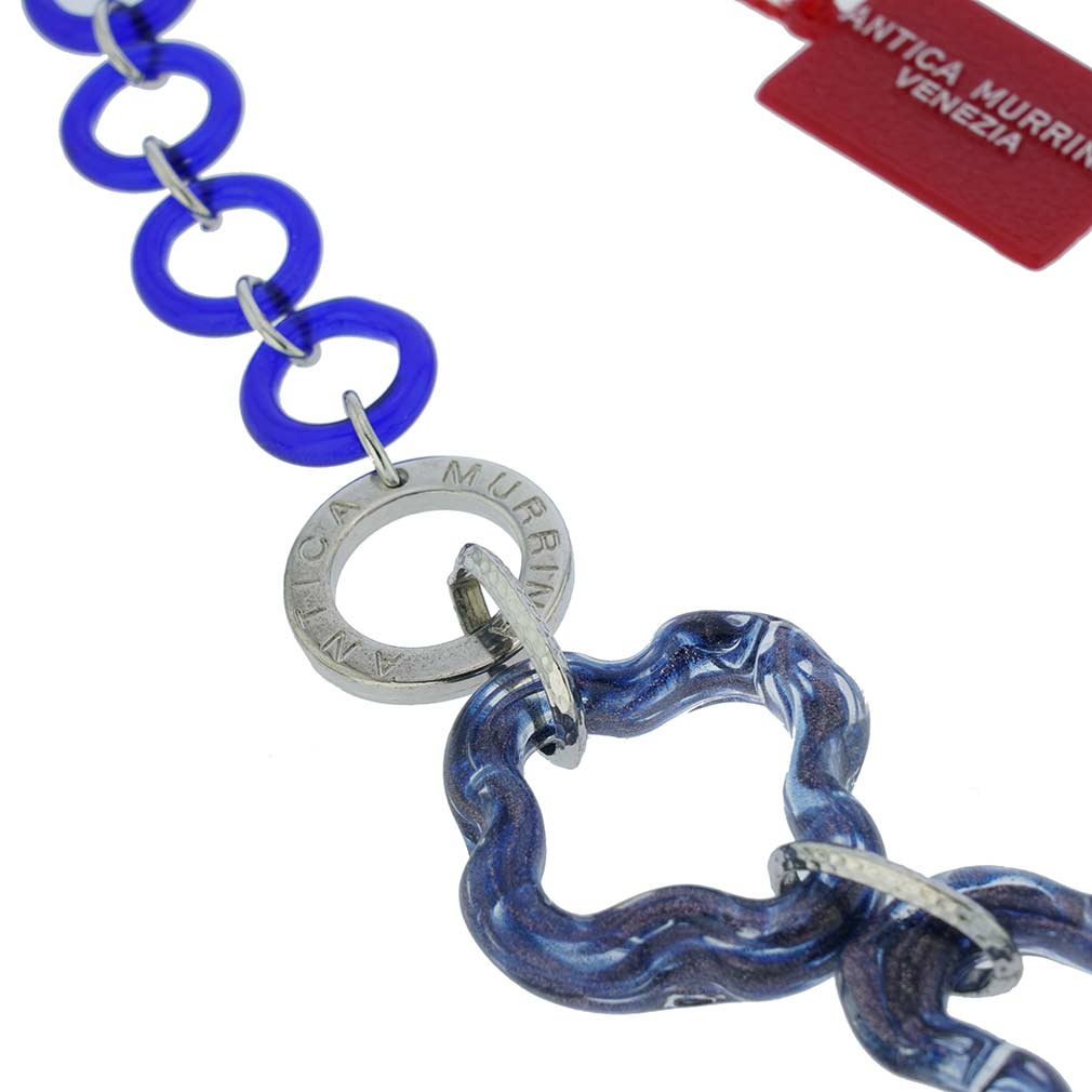 Arhat Murano Necklace - Midnight Blue