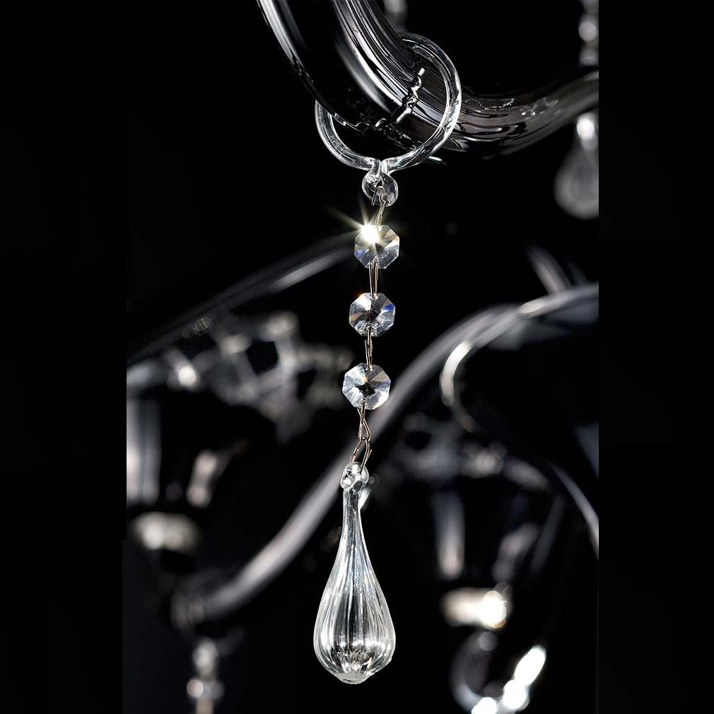 Artemio Murano Glass Chandelier