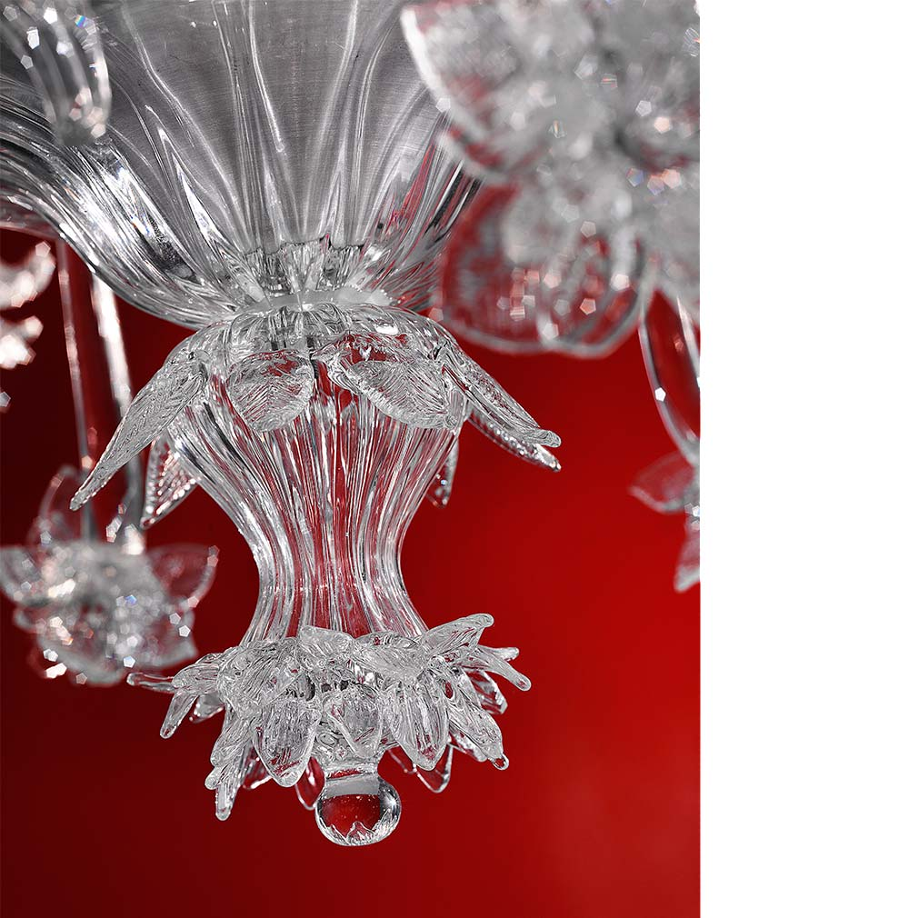 Dahlia Murano Glass Chandelier