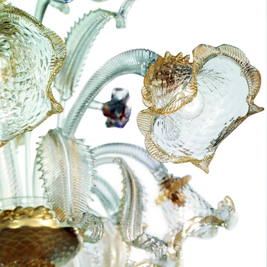 Geppa Murano Glass Chandelier