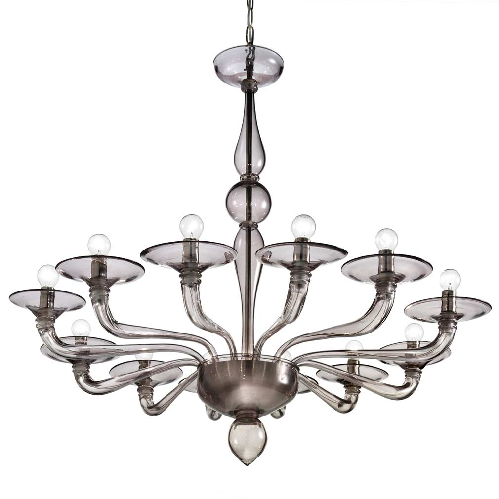 Petaluma Murano Glass Chandelier