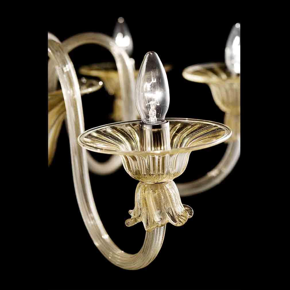 Redentore Murano Glass Chandelier