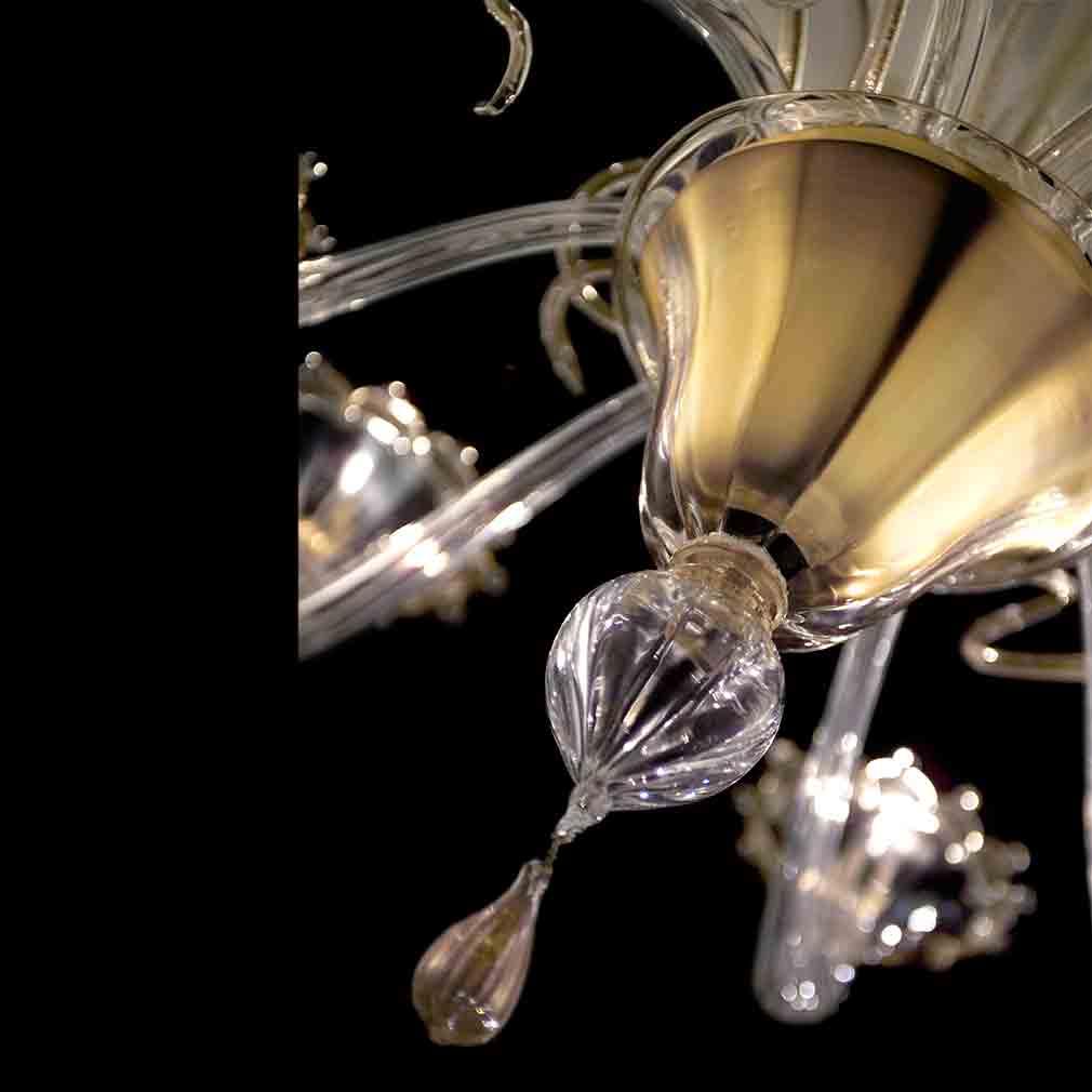 Regale Murano Glass Chandelier