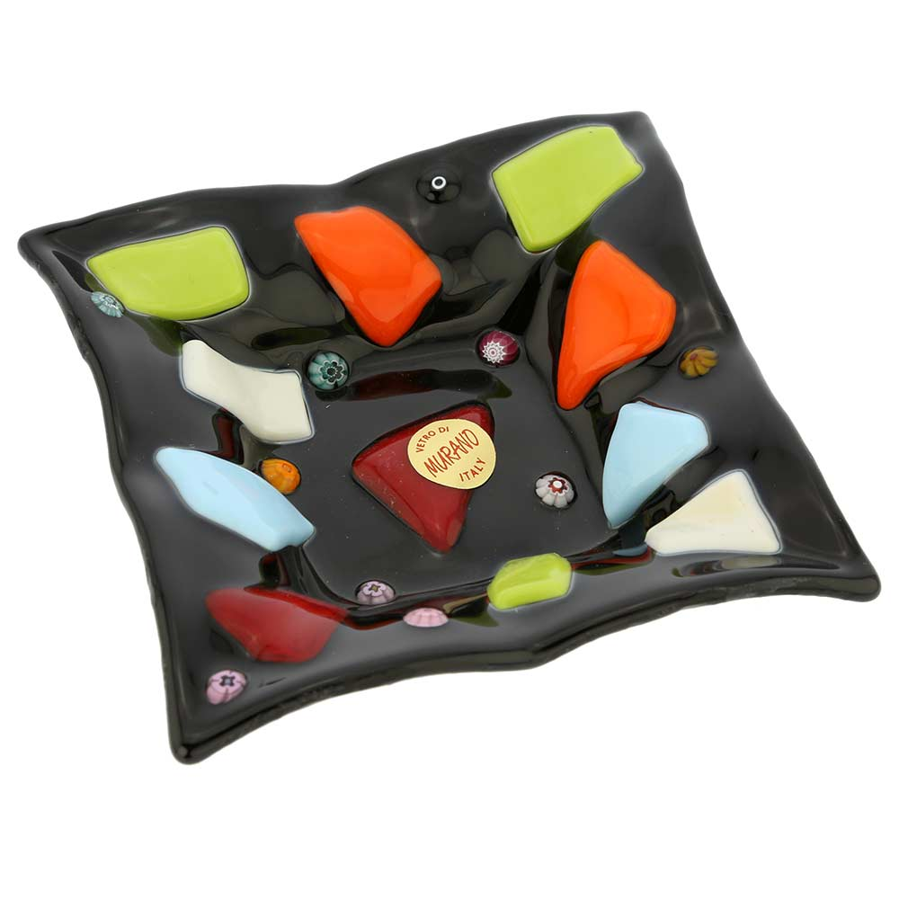 Murano Glass Modernista Accent Plate