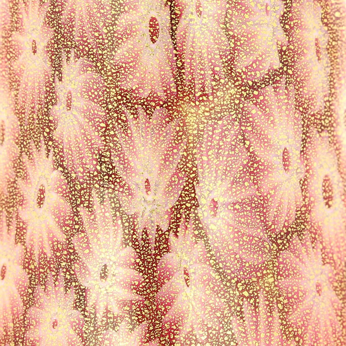 Golden Quilt Tender Rose Millefiori Bell
