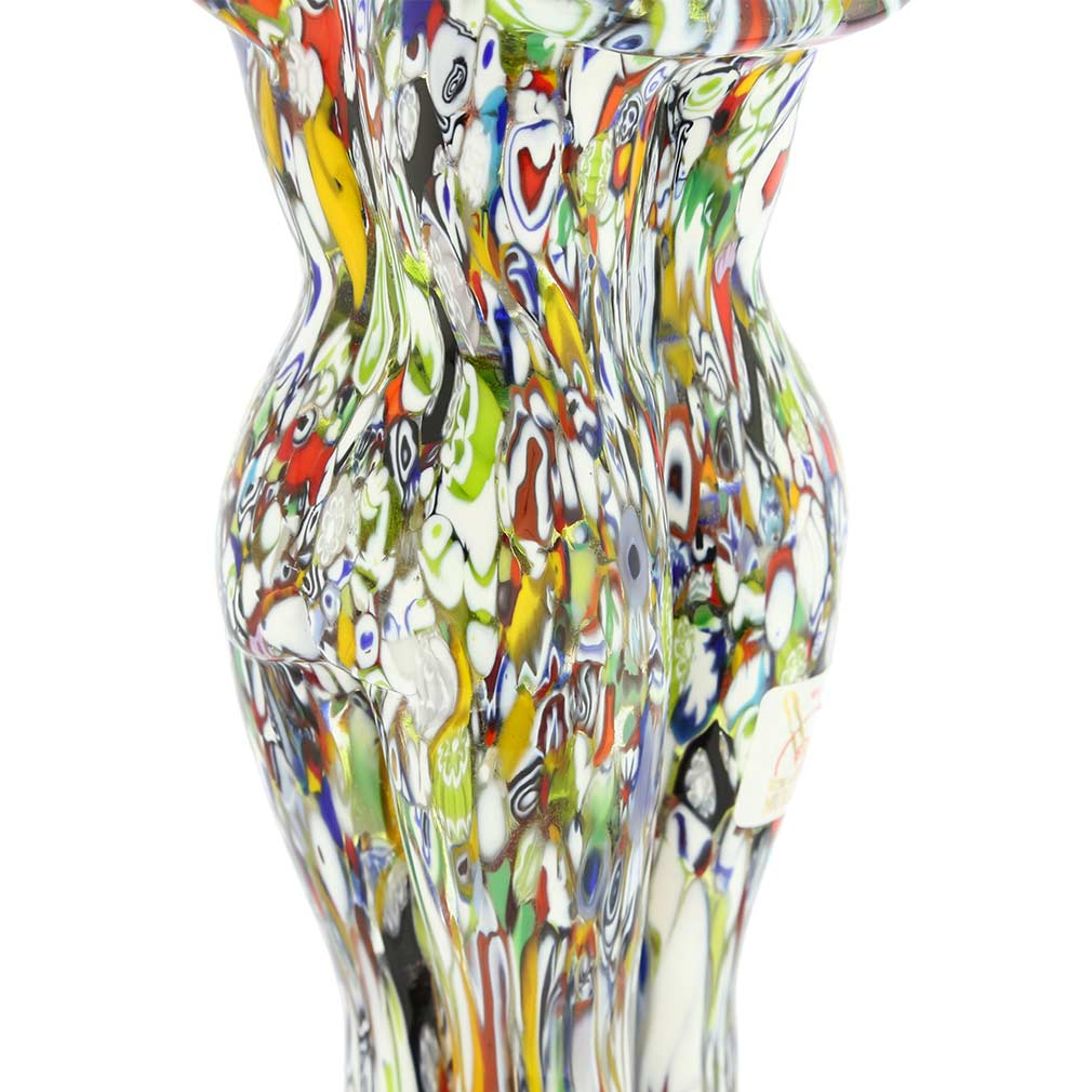 Murano Glass Millefiori Lovers