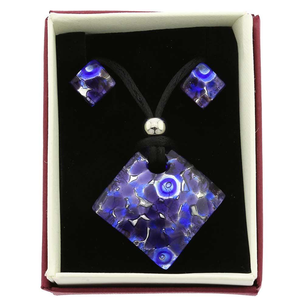 Venetian Reflections Jewelry Set - Periwinkle