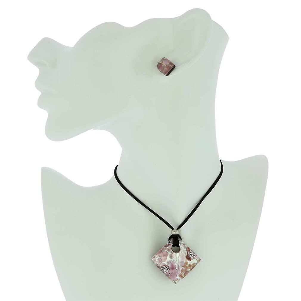 Venetian Reflections Jewelry Set - Amethyst