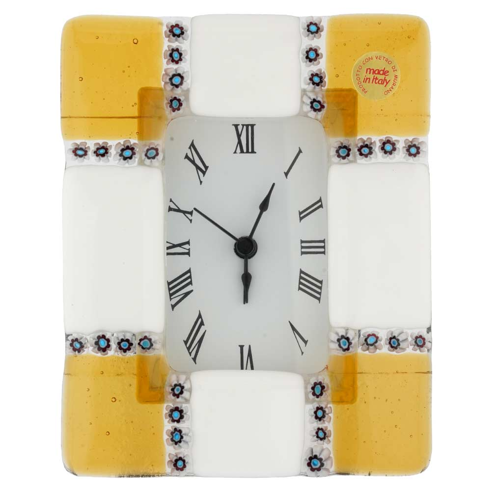 Venetian Glass Alarm Clock Ducale