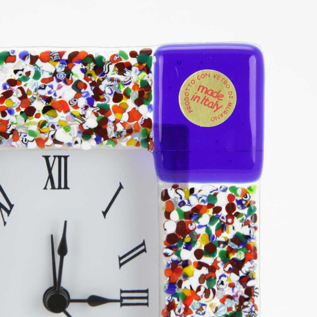 Venetian Glass Alarm Clock Klimt