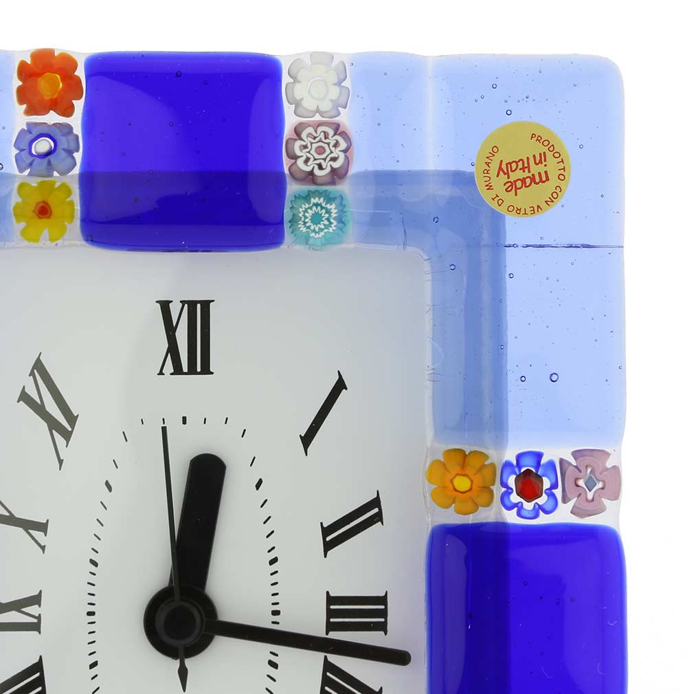 Murano Glass Wall Clock Sospiri