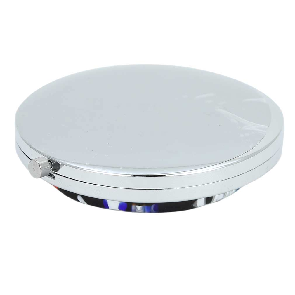 Murano Millefiori Folding Compact Mirror - Multicolor