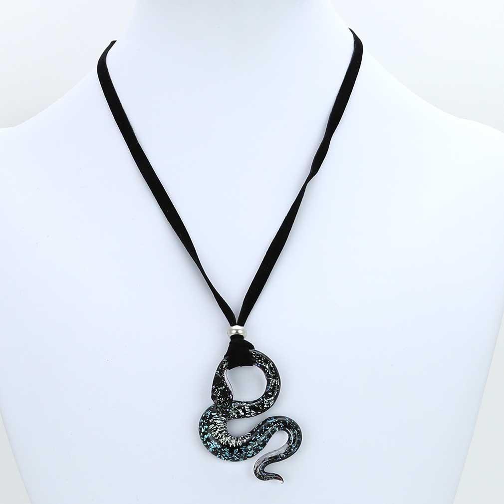 Murano Snake Set #2 - Pendant and Earrings
