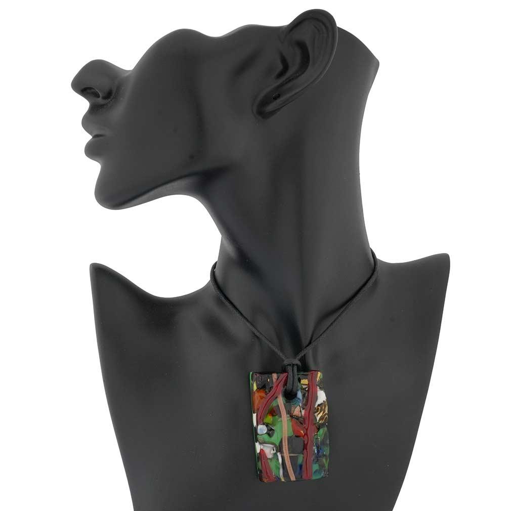 Klimt Murano pendant
