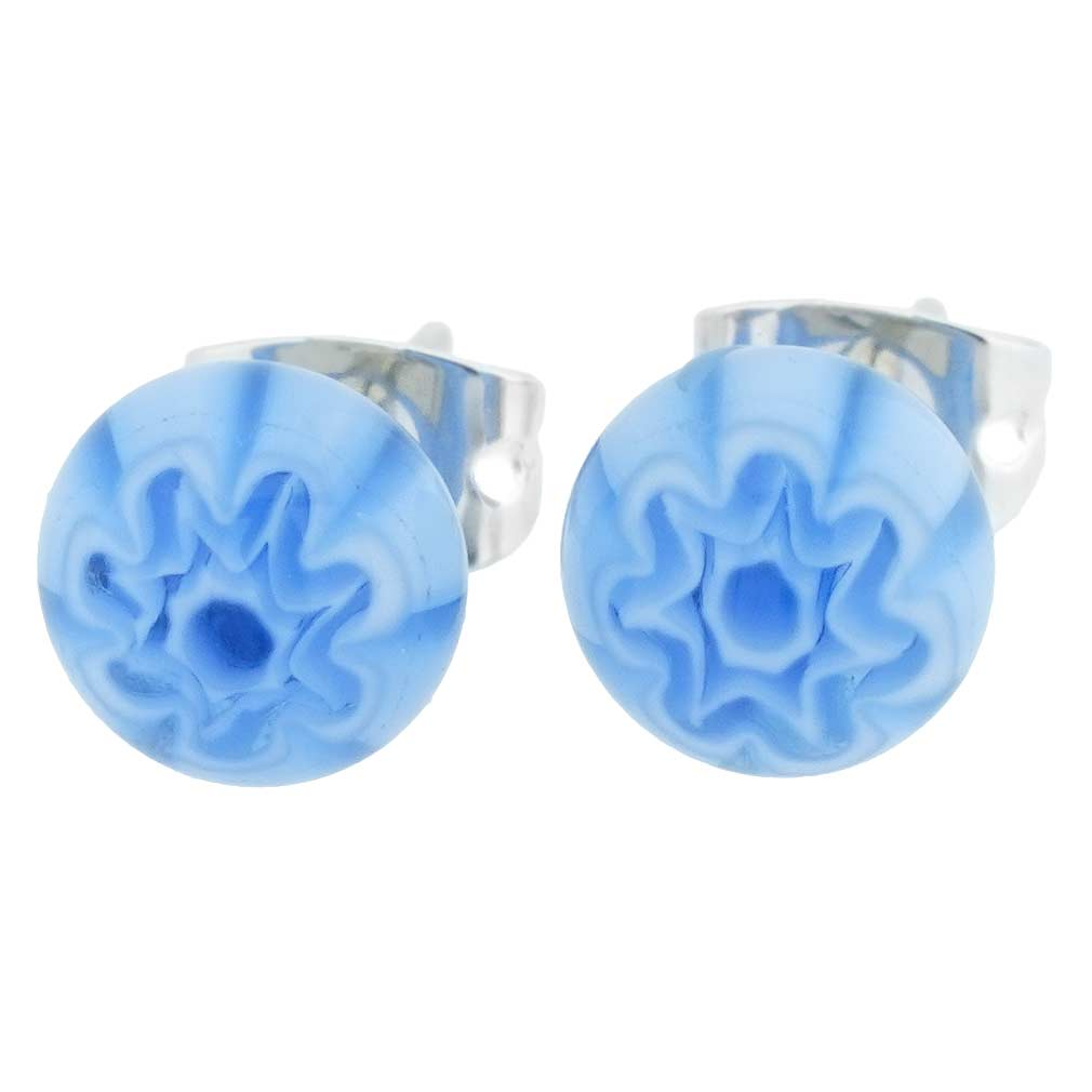 Millefiori Small Stud Earrings #1