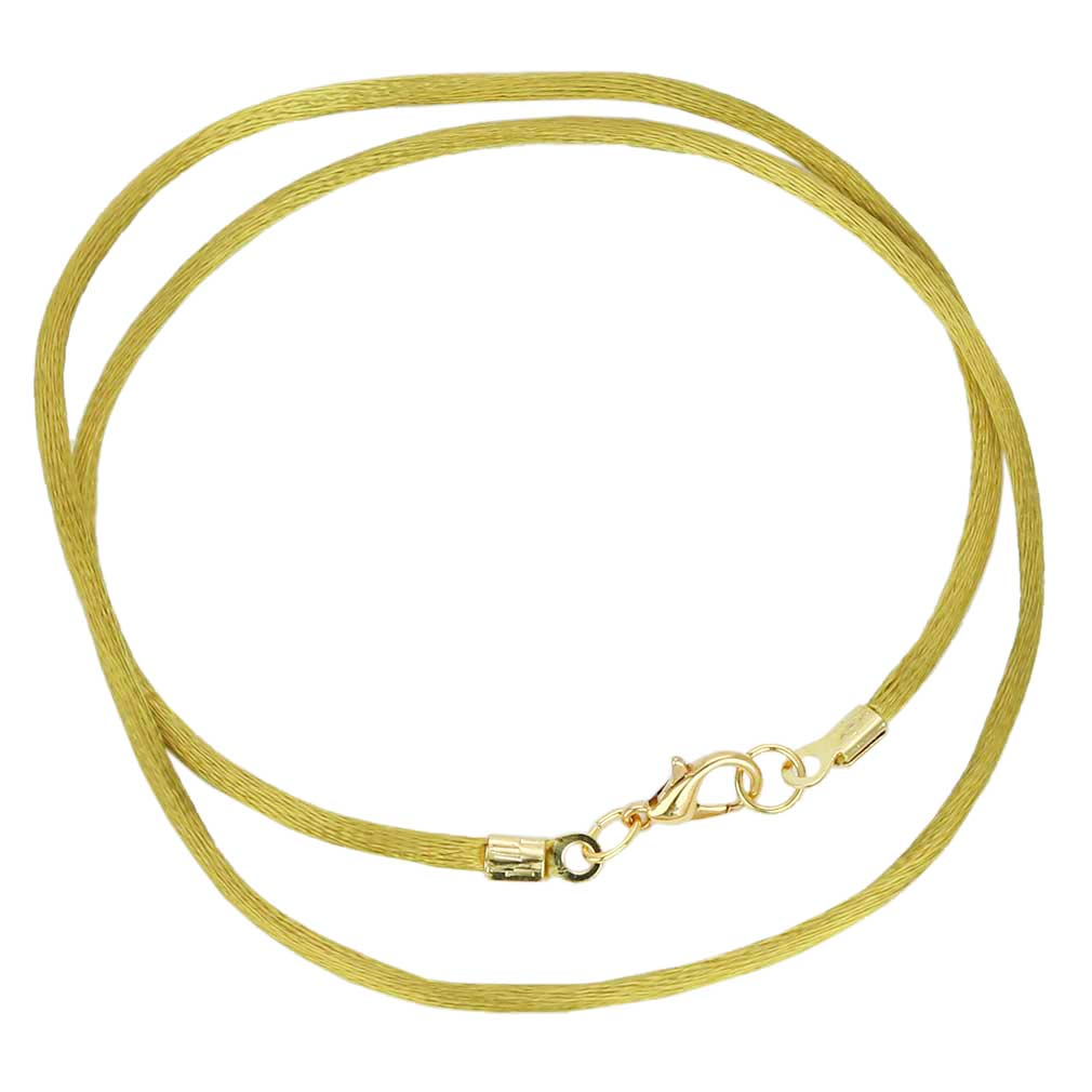 Silk Cord - antique gold