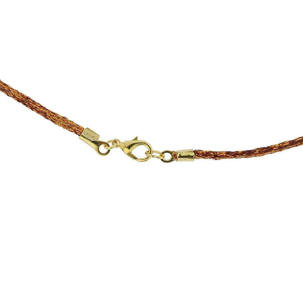 Silk Cord - Sparkling Copper