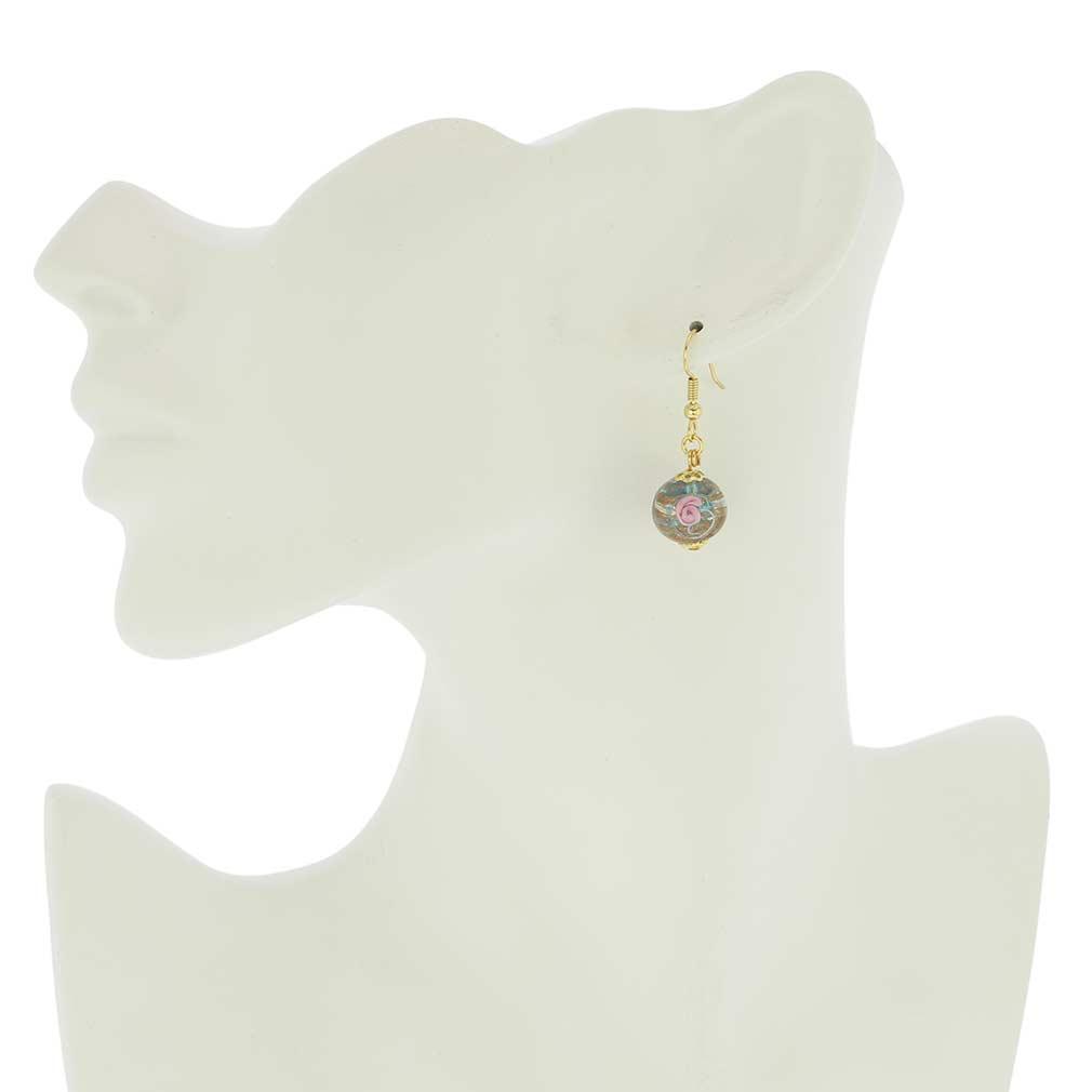 Magnifica earrings - sky blue