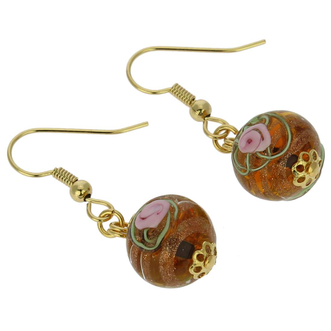 Magnifica Earrings - Light Topaz