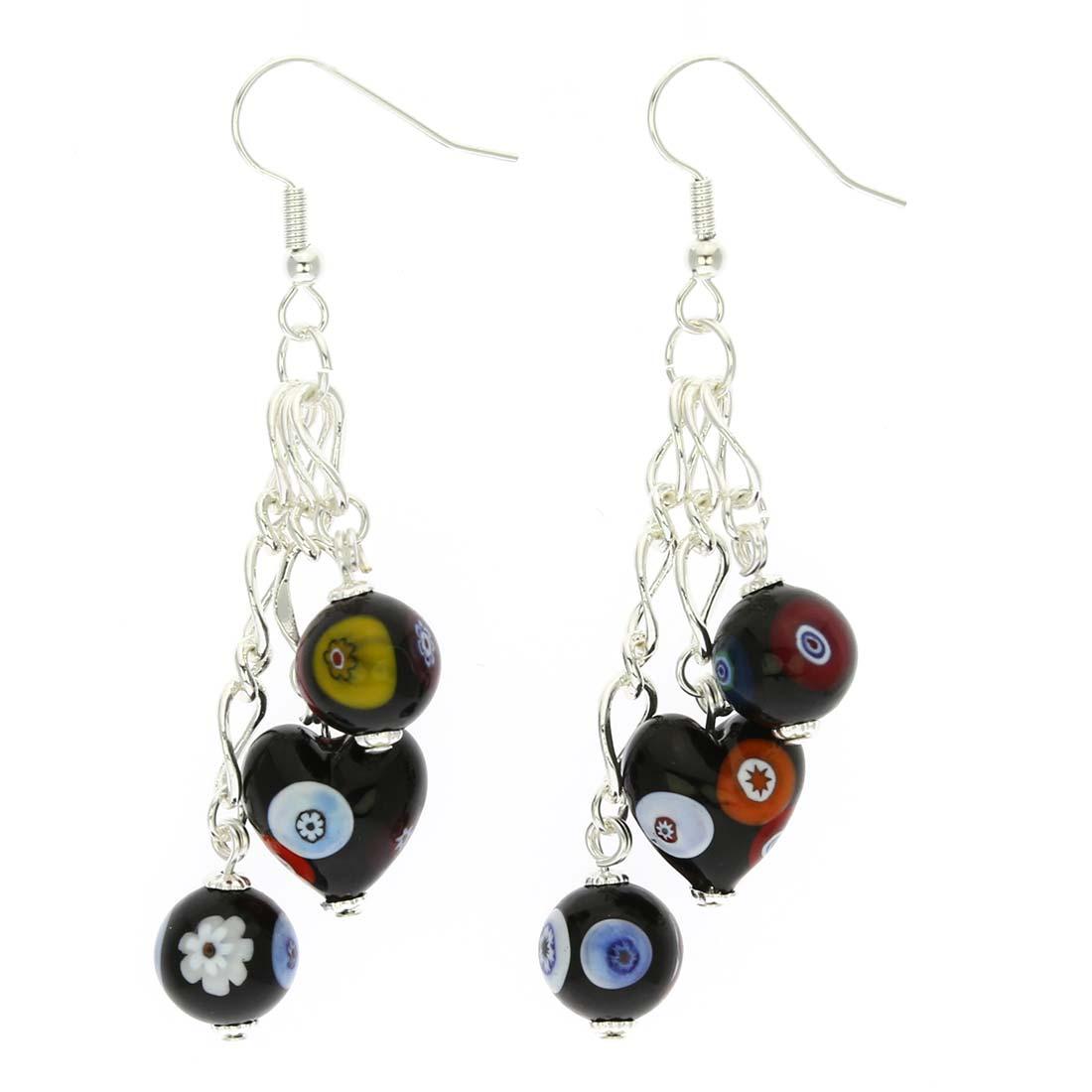 Millefiori Fantasy earrings