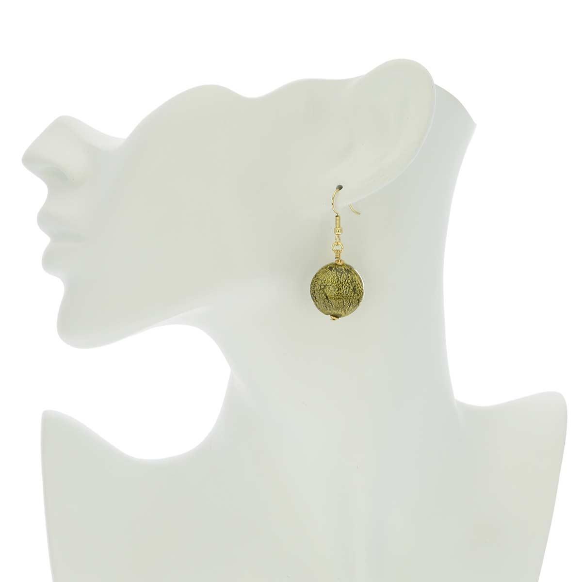 Ca D\'Oro earrings - cloudy sky