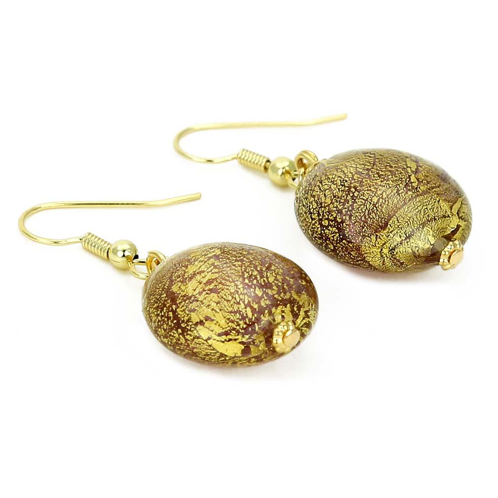 Ca D\'Oro earrings - amethyst
