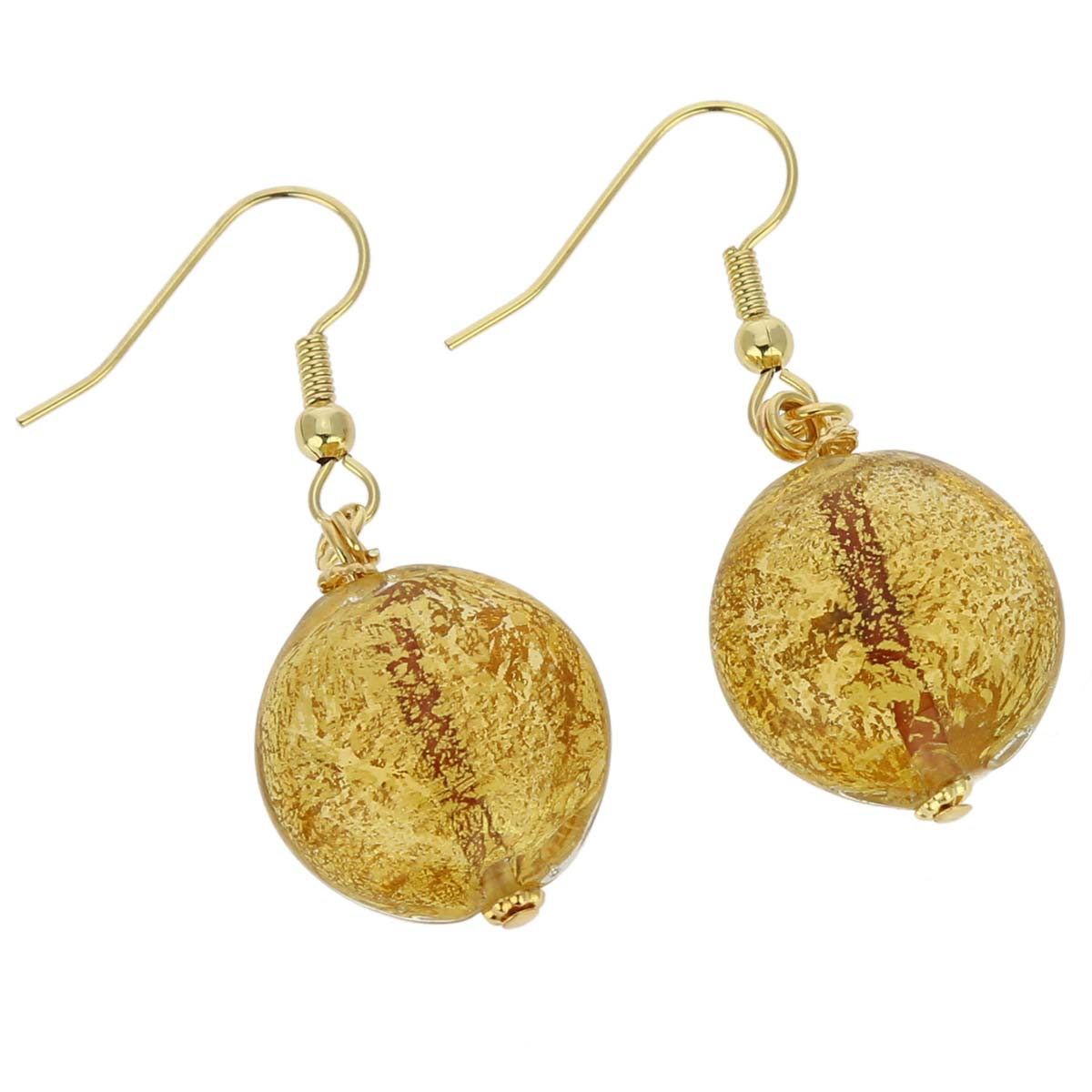 Ca D\'Oro earrings - yellow gold