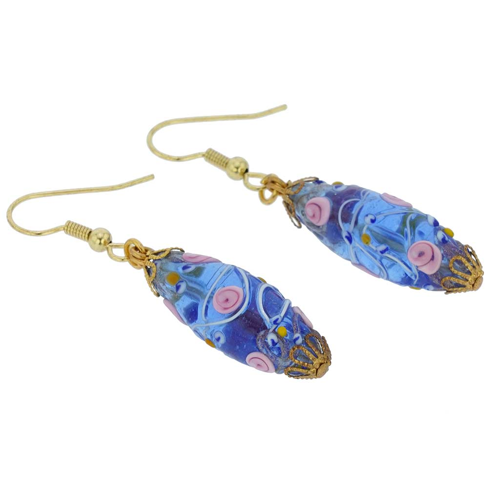 Magnifica antique olives earrings - cream
