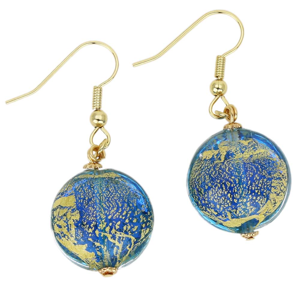 Ca D\'Oro earrings - aqua