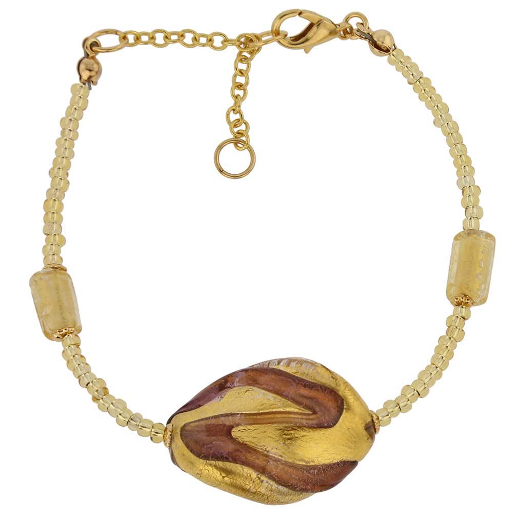 Royal Amethyst Spiral bracelet