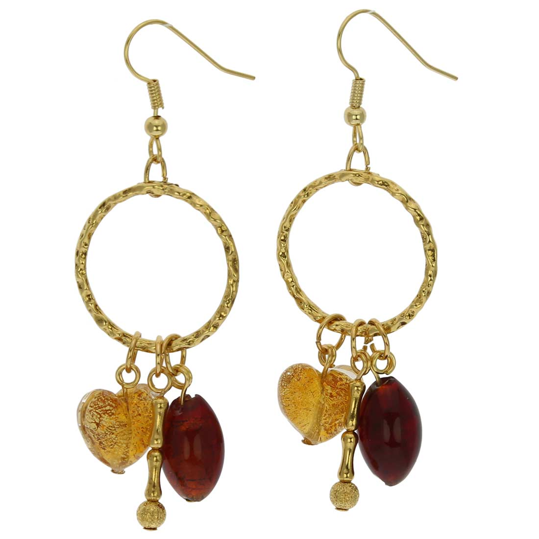 Il Sole Murano earrings