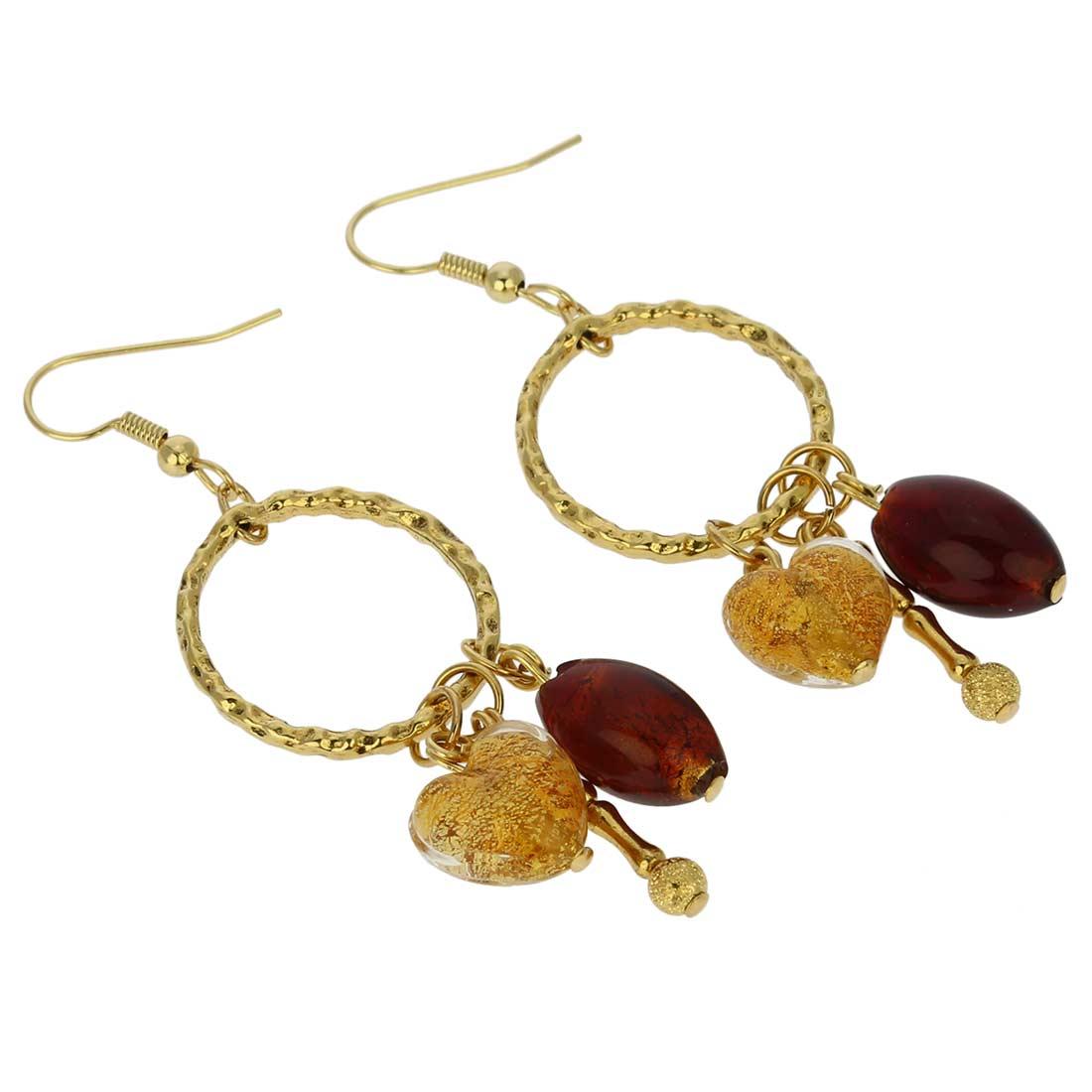 Murano Earrings | Il Sole Murano earrings