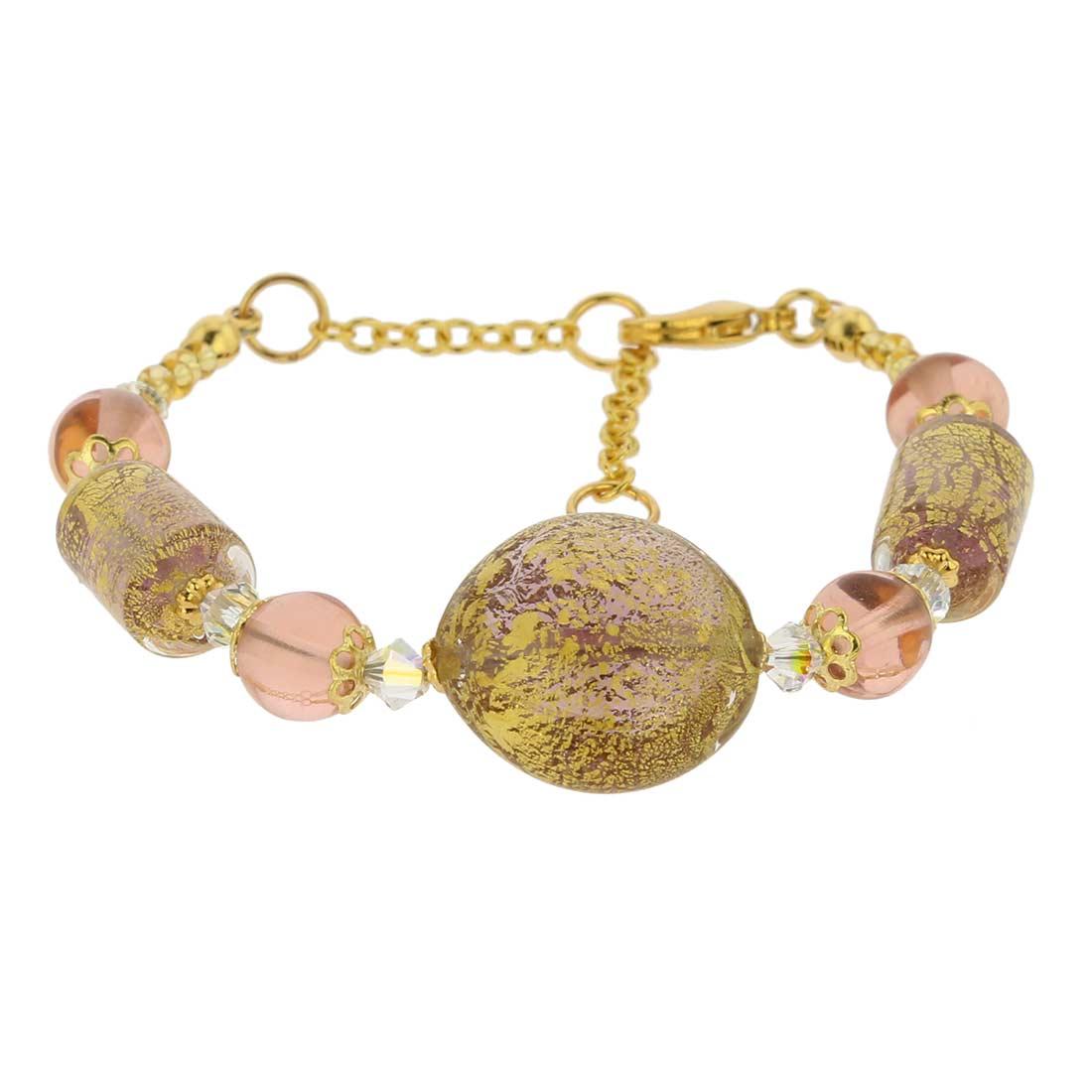 Ca D\'Oro Murano Bracelet - Amethyst