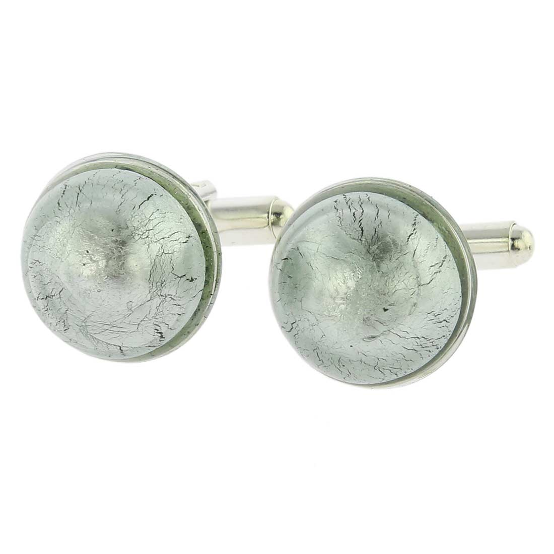 Venetian Dream Cufflinks - Icy Grey