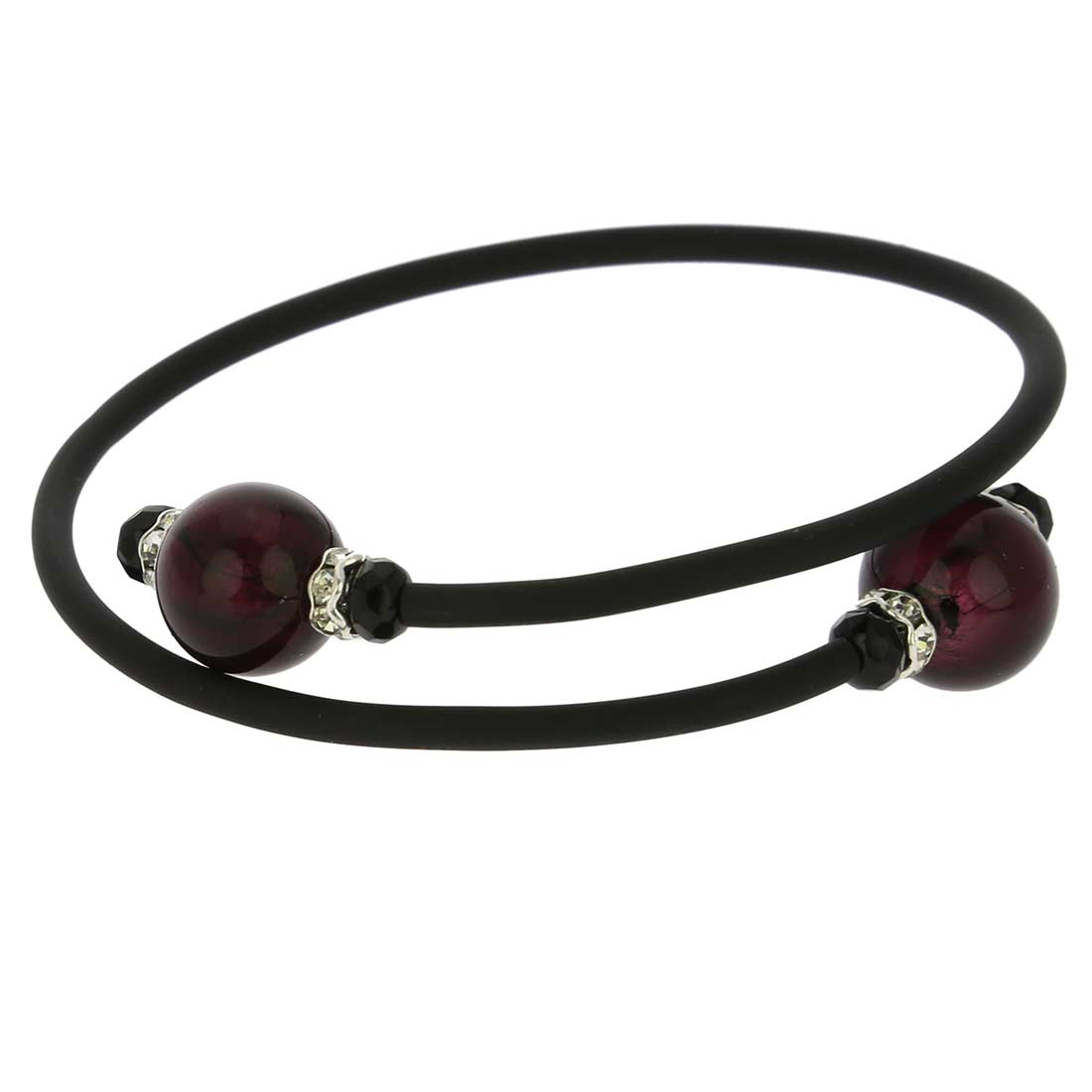 Venetian Glamour Bracelet - Amethyst