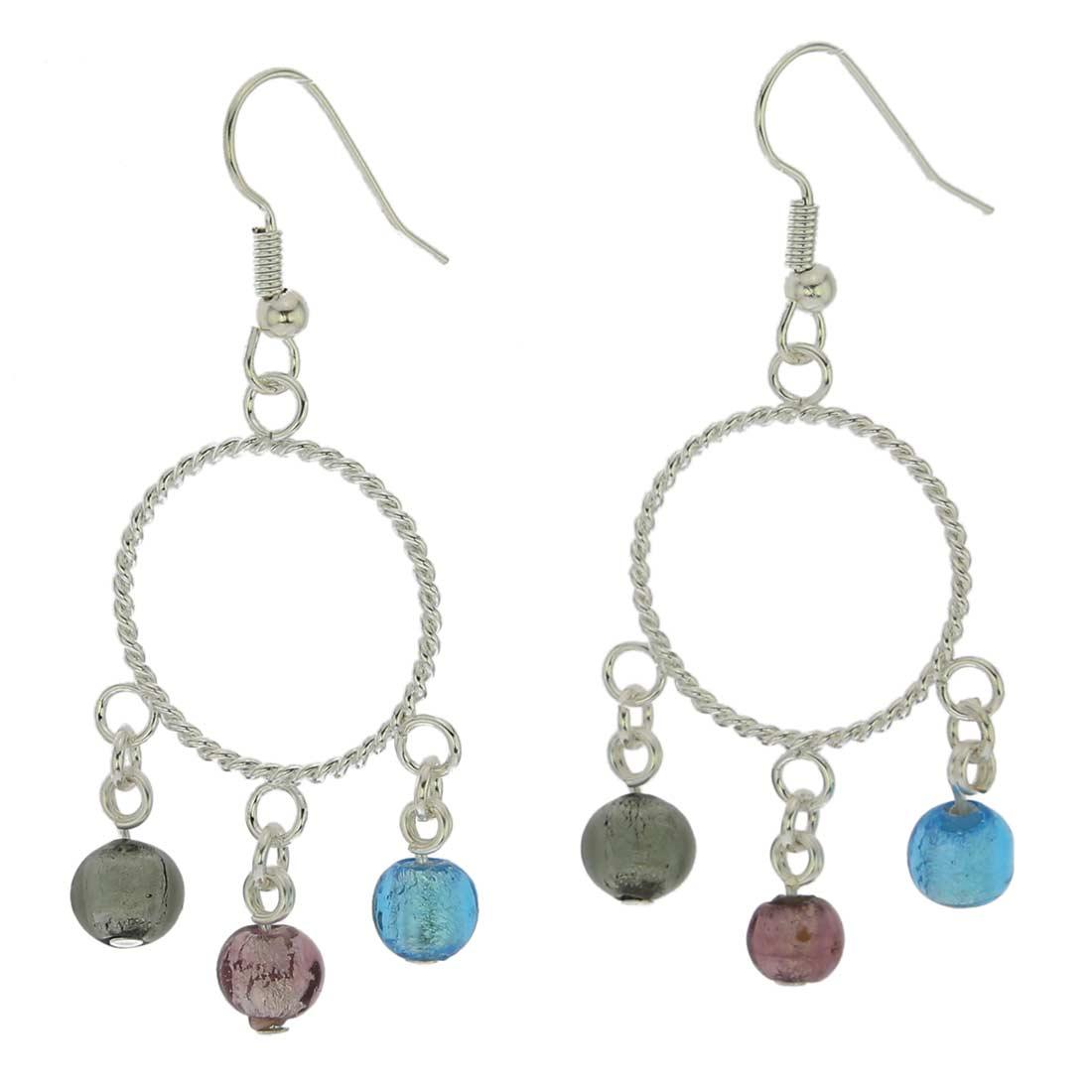 Murano Drops Dangle Earrings