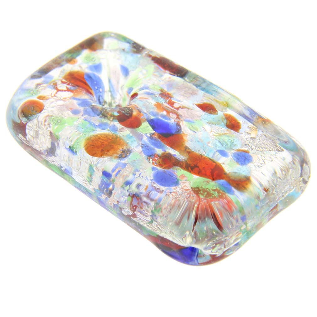 Kaleidoscope rectangular pendant