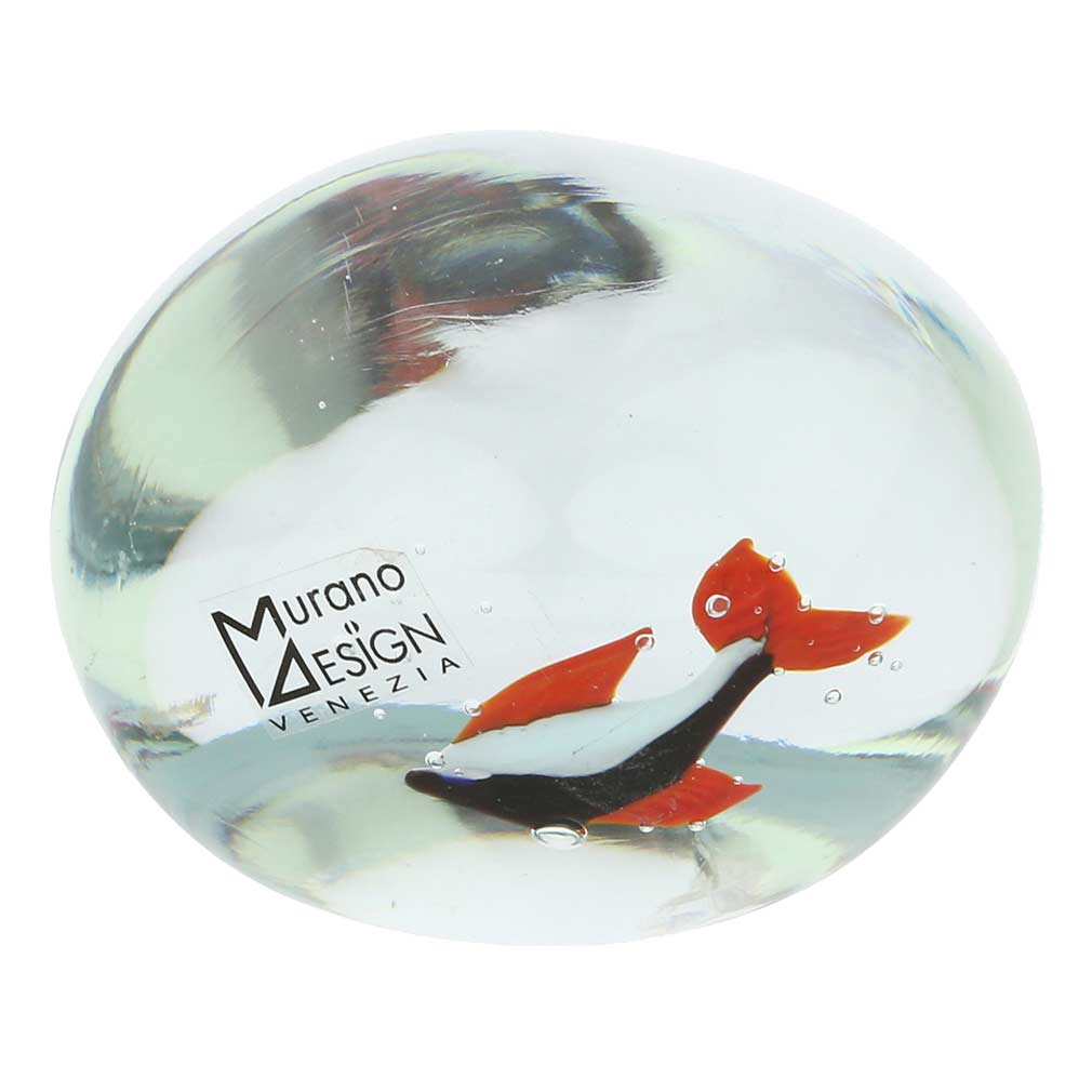 Murano Glass Aquarium with Fish