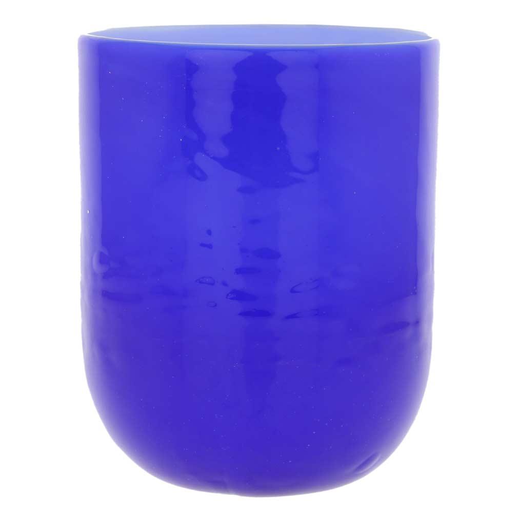 Murano Glass Luminoso Tumbler - Blue