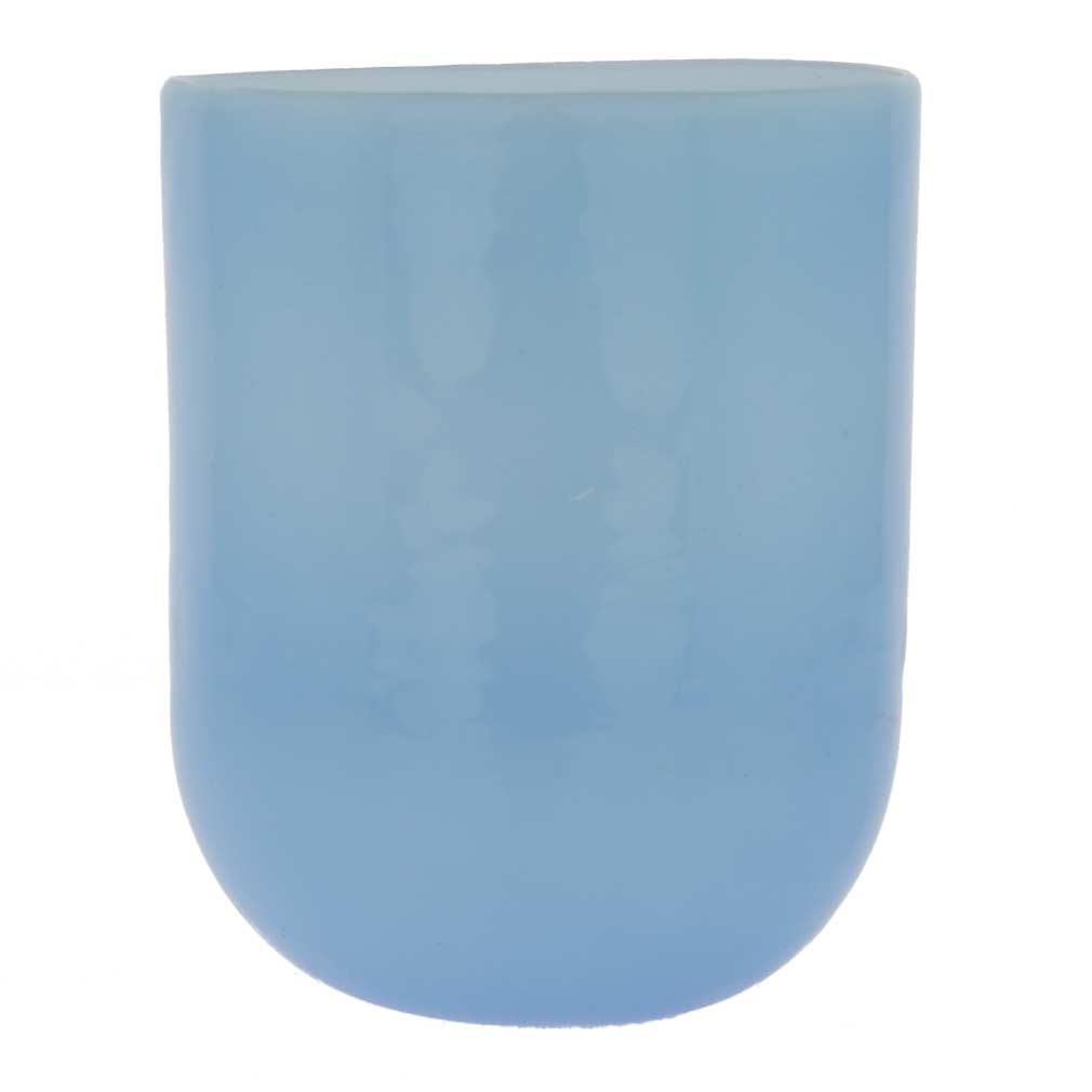 Murano Glass Luminoso Tumbler - Llight Blue