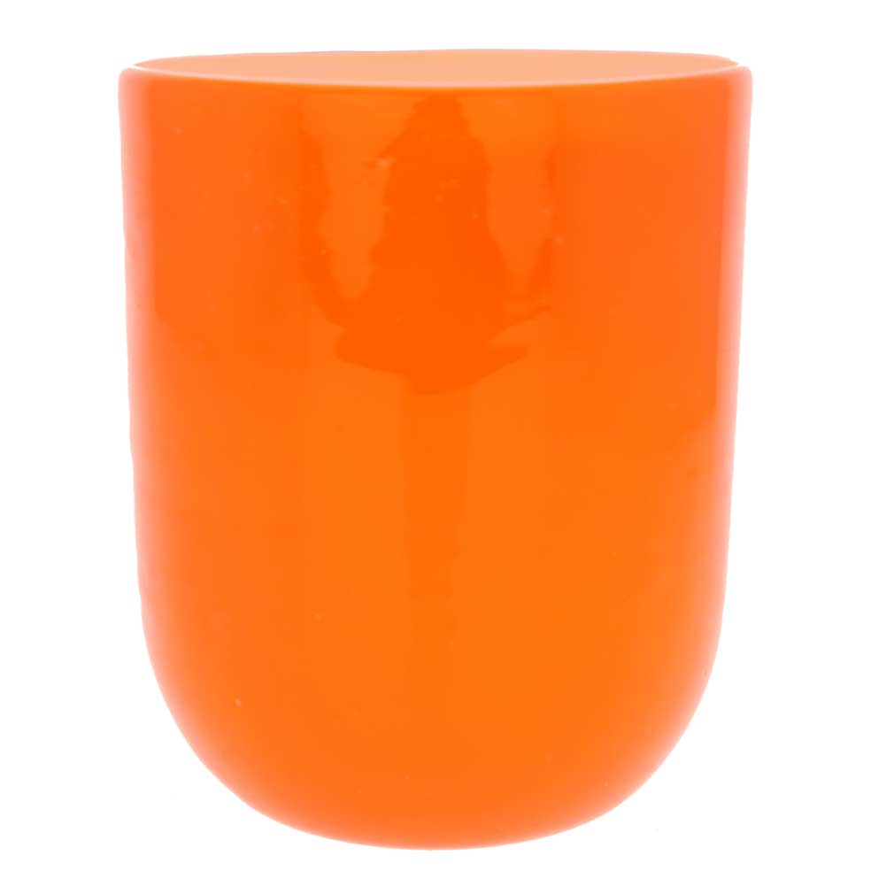 Murano Glass Luminoso Tumbler - Orange