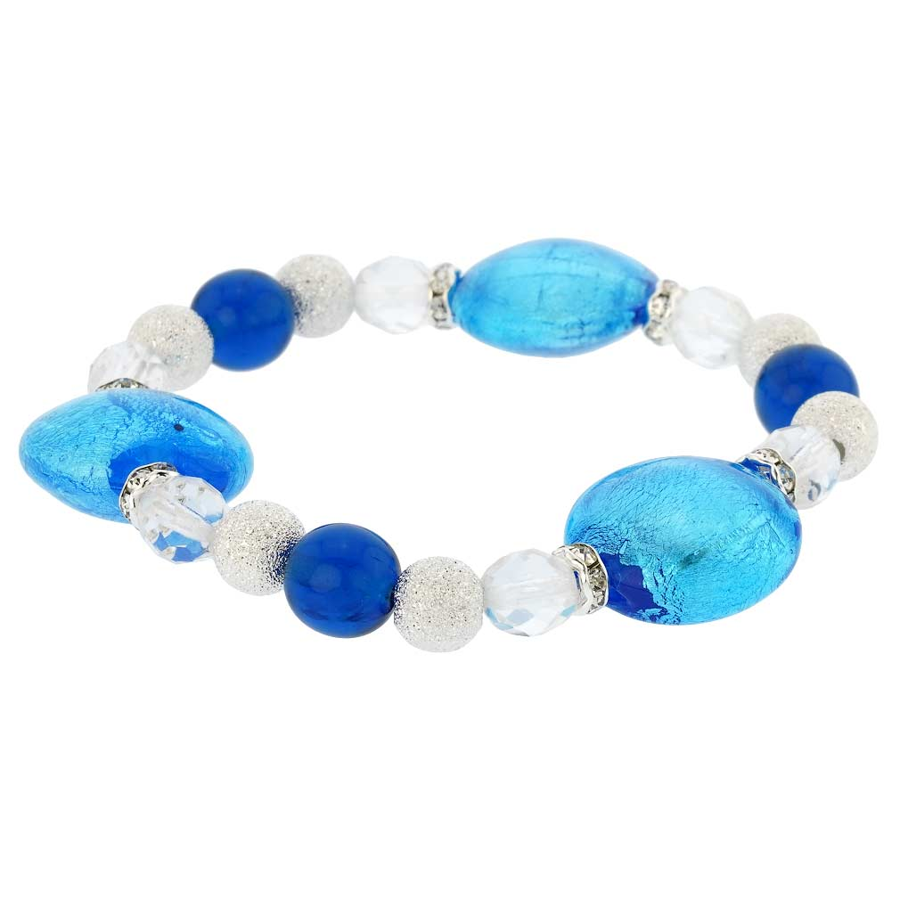 Murano Magic bracelet - azure blue