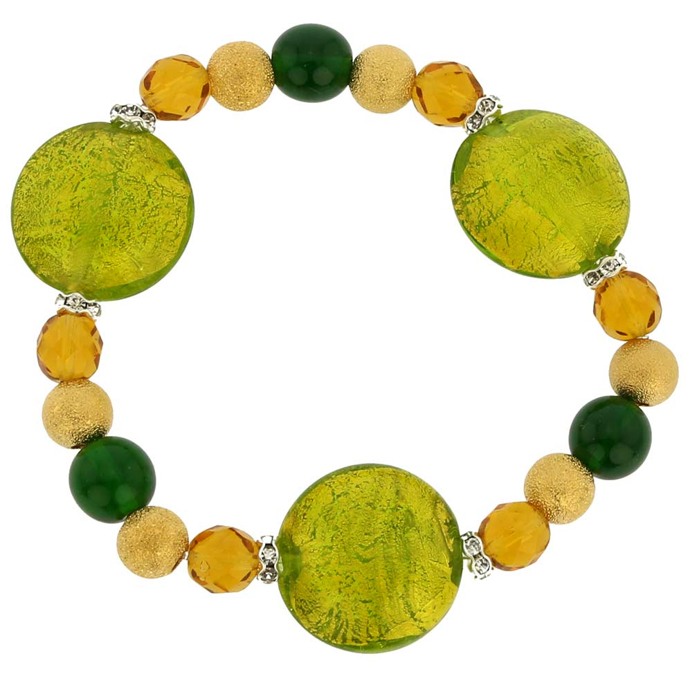 Murano Magic bracelet - lime green