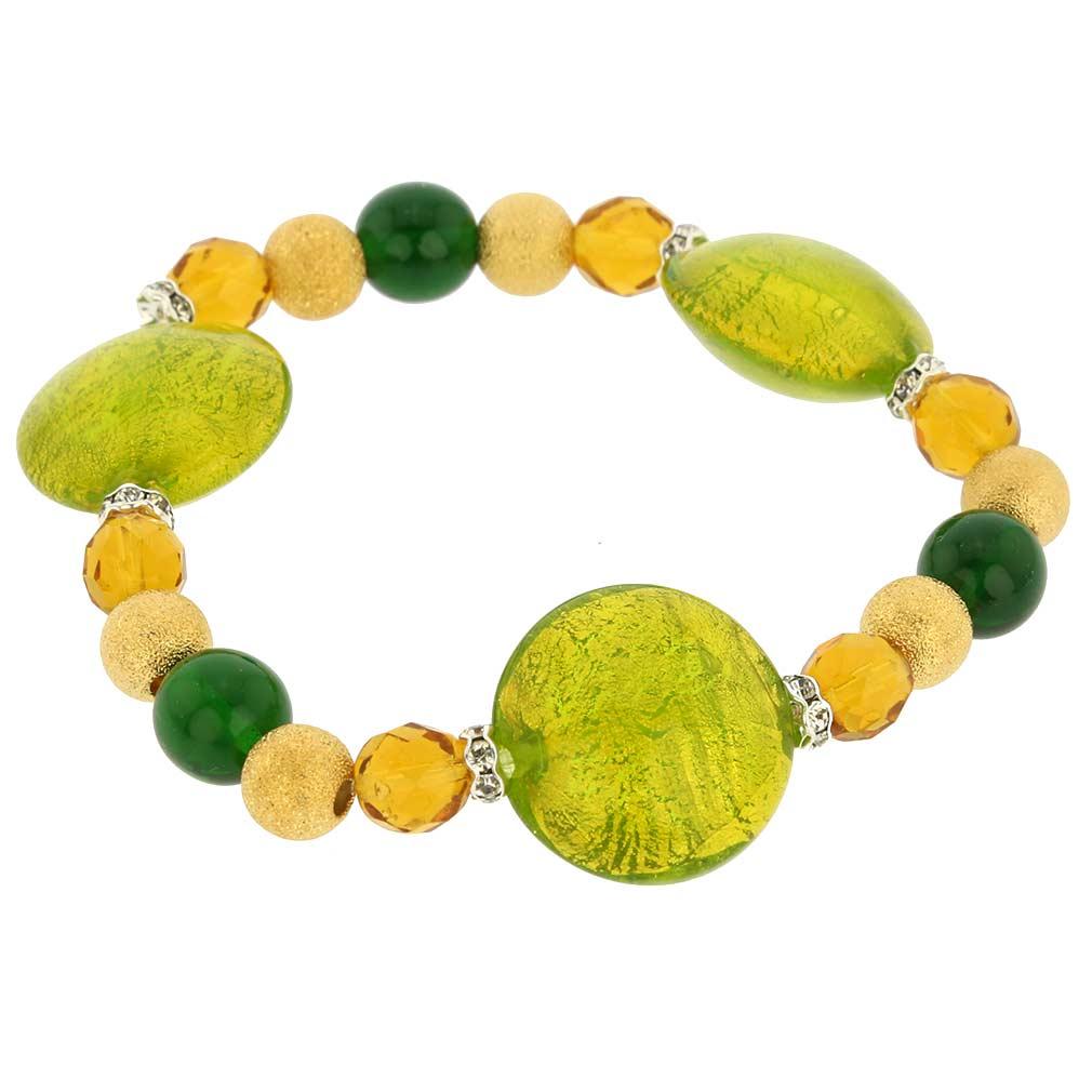 Murano Magic bracelet - lime green