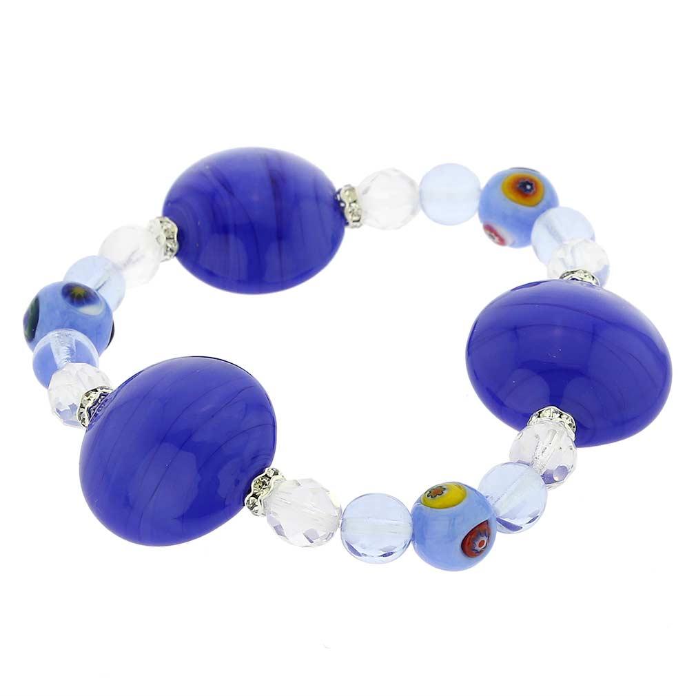 Murano Magic bracelet - mosaic sky blue