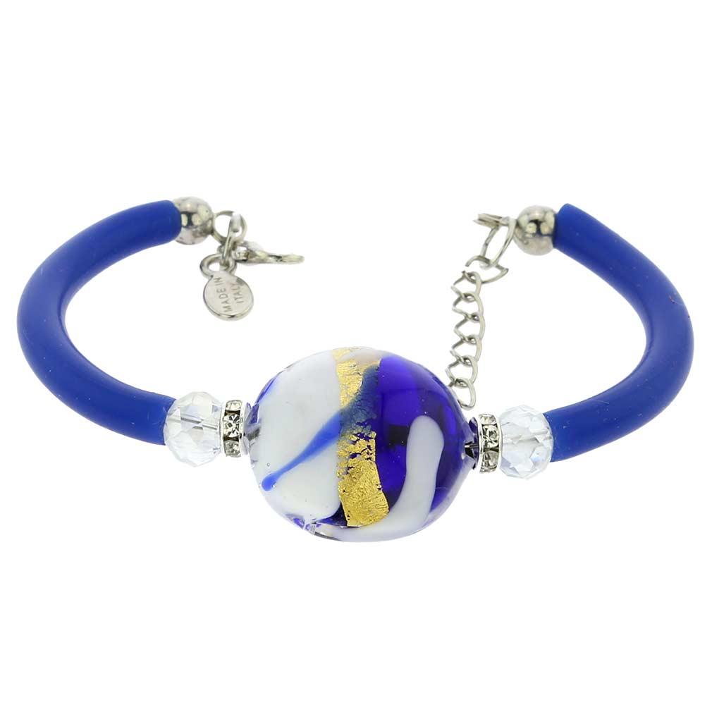 Venice Diva Bracelet - White and Blue